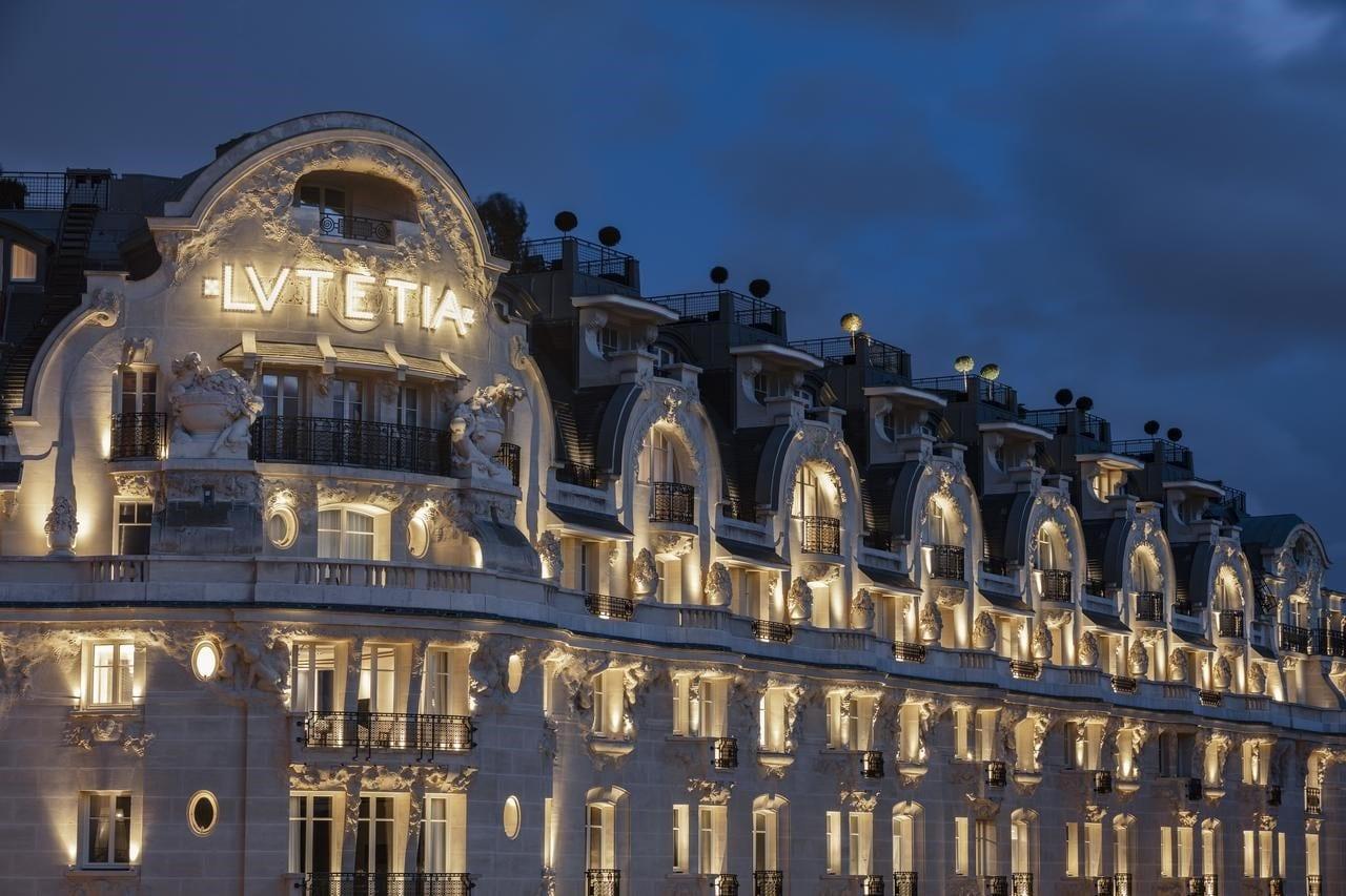 L'hôtel Lutetia le soir