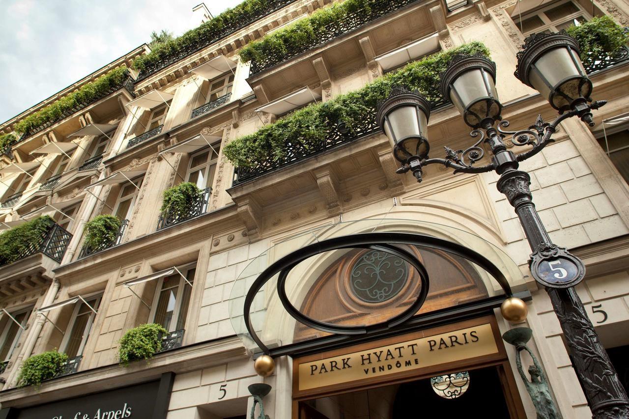 L'hôtel Park Hyatt Paris-Vendôme rue de la Paix à Paris