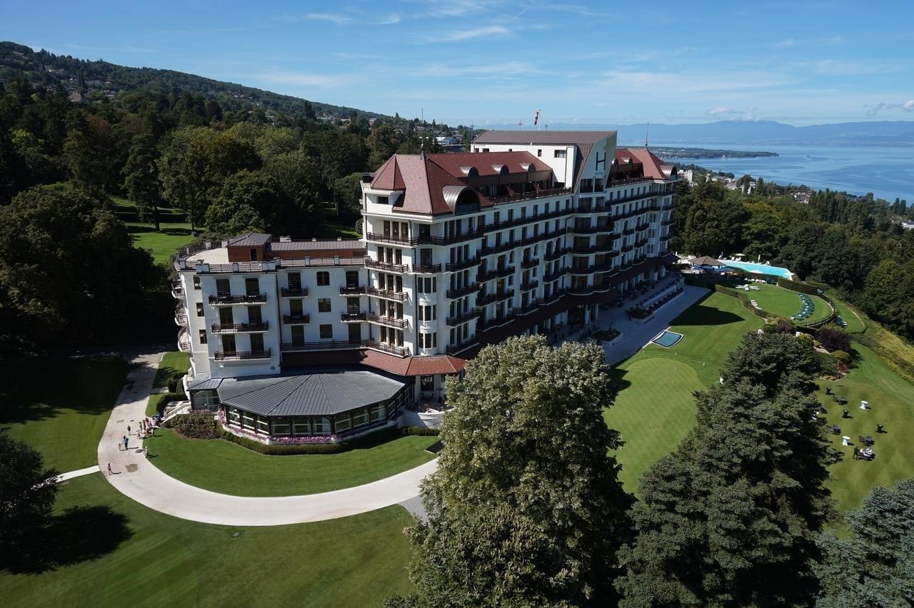 L'Hôtel Royal à Évian-les-Bains
