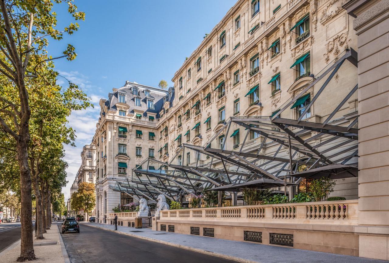 L'hôtel The Peninsula Paris, rue Kléber à Paris