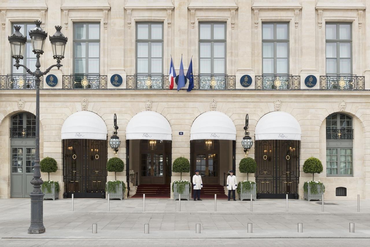 L'hôtel Ritz, place Vendôme à Paris