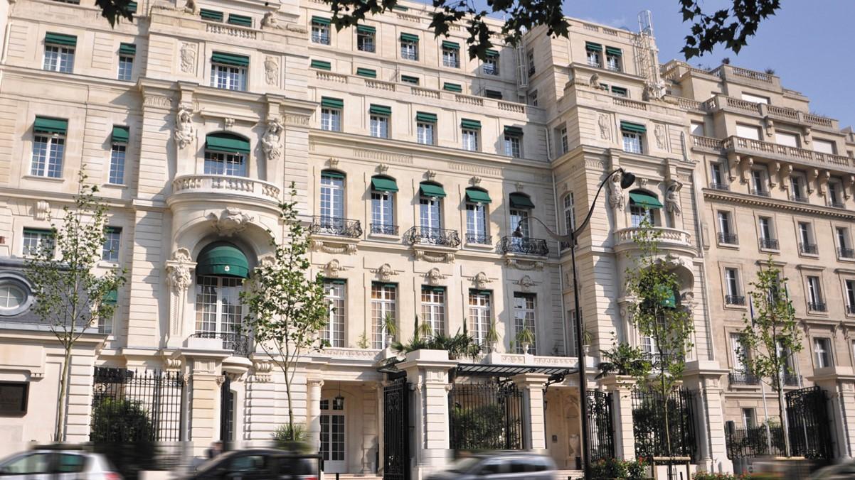 Le Shangri-La Hotel Paris ,10 avenue d'Iéna à Paris