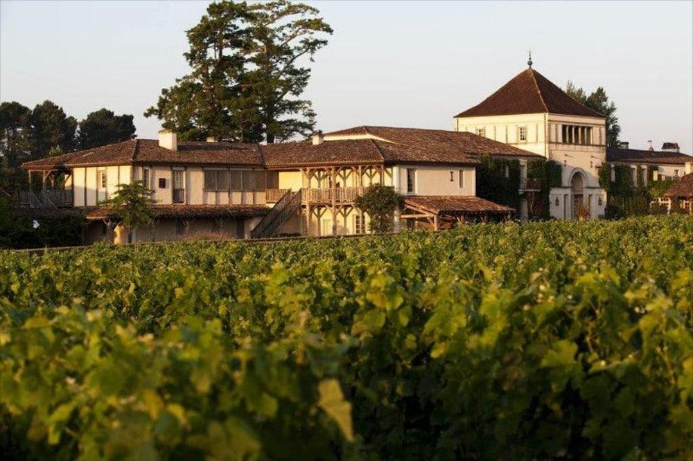 Les Sources de Caudalie et le vignoble du Château Smith Haut Lafitte
