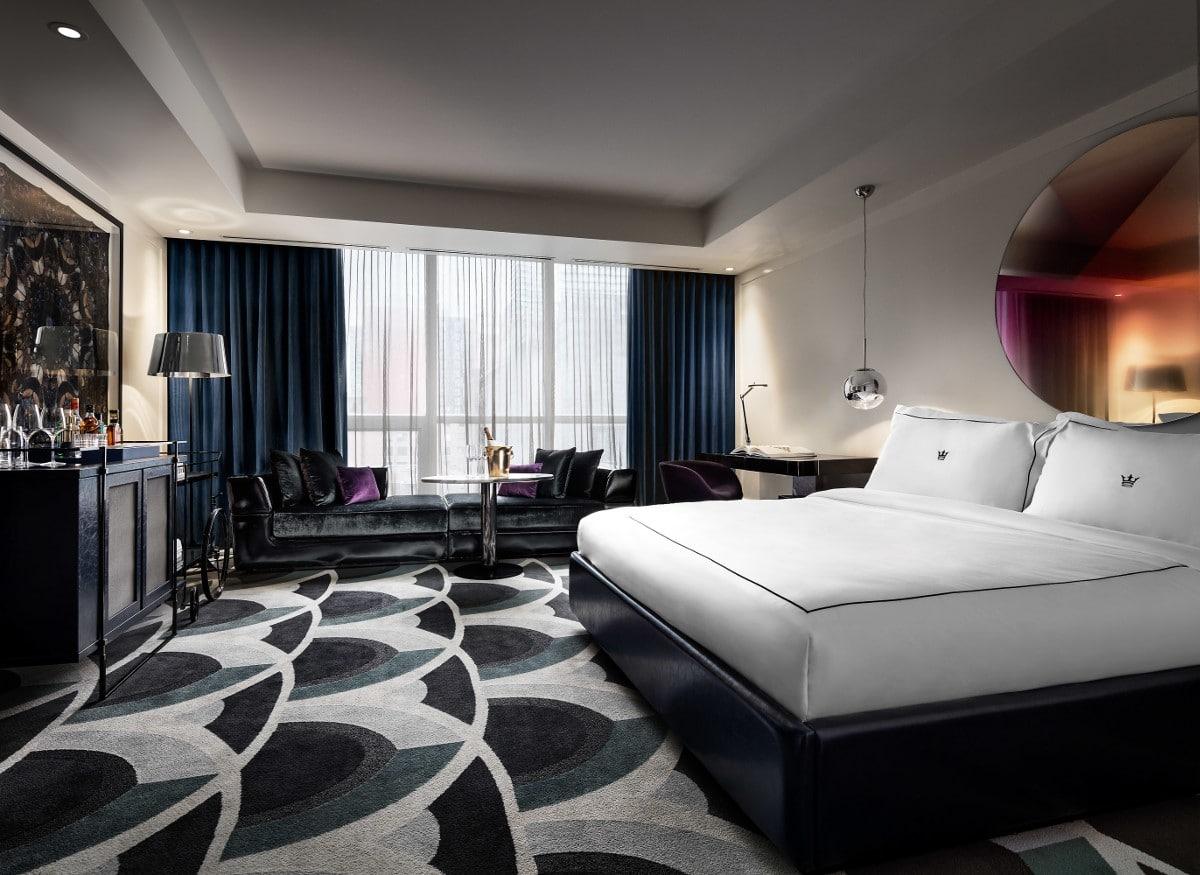 Une suite d'hôtel