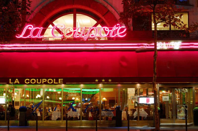 Brasserie La Coupole la nuit