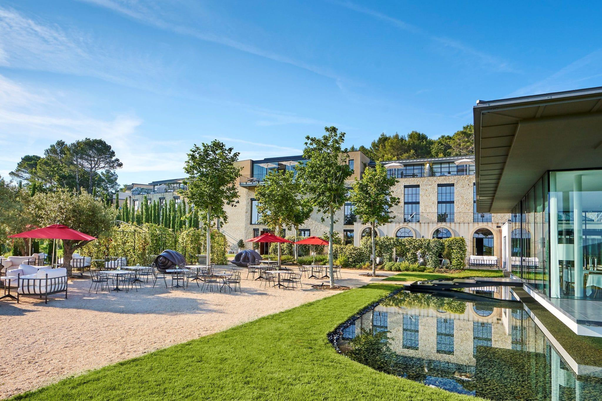 L'hôtel de la Villa La Coste au Puy-Sainte-Réparade