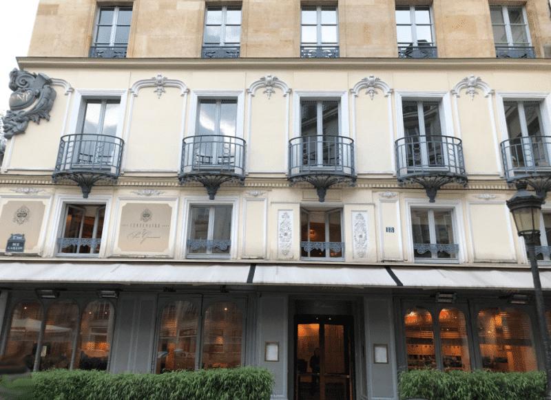 Le restaurant Drouant place Gaillon à Paris