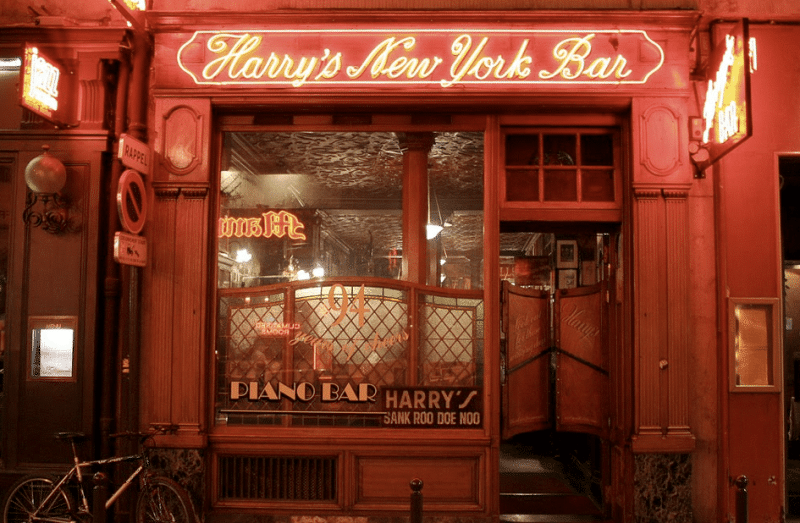 Le Harry's Bar New York rue Daunou à Paris