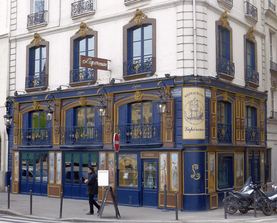 Le restaurant Lapérouse au quai des Grands-Augustins à Paris