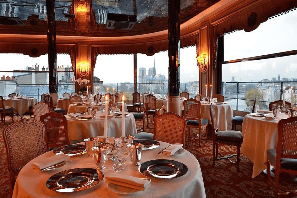 Restaurant de la Tour d'Argent quai de la Tournelle à Paris