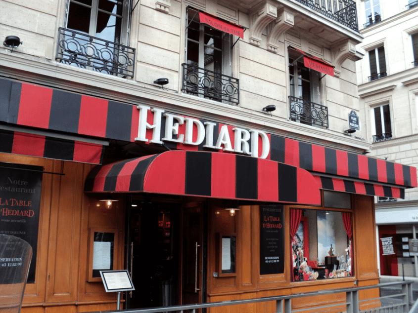 Hédiard place de la Madeleine à Paris