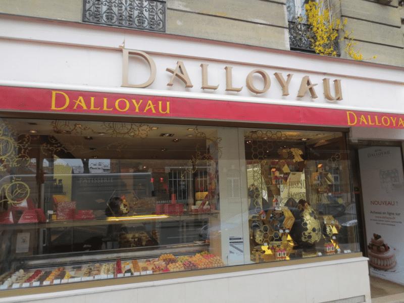 Une boutique Dalloyau à Paris