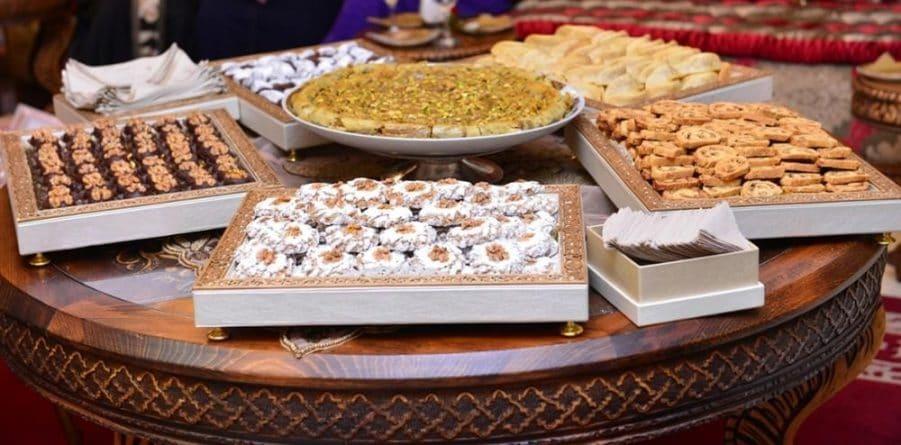 Assortiment de pâtisseries marocaines