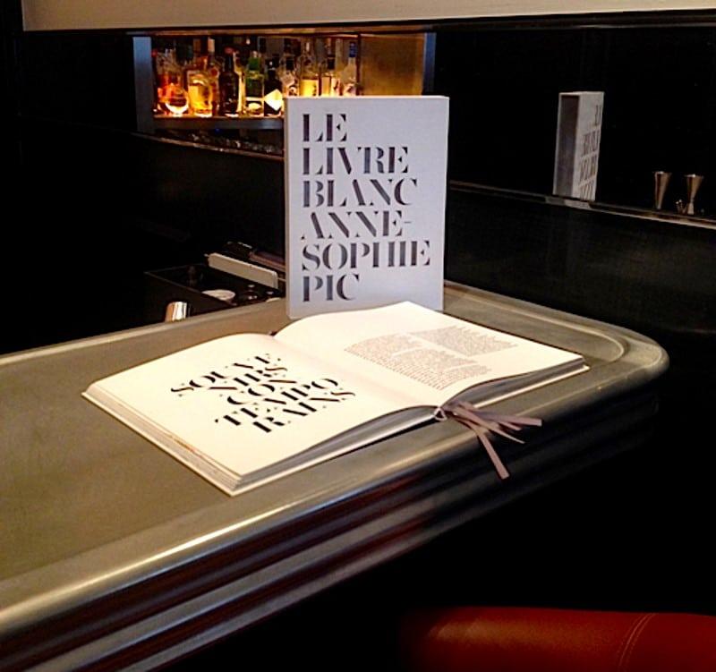 Le Livre Blanc Anne-Sophie Pic