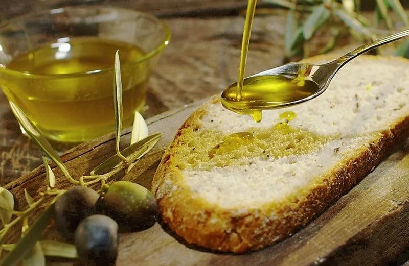 Tartine d'huile d'olive