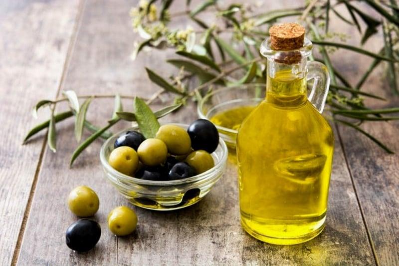 Olives et huile d'olives grecques