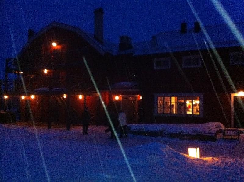 Restaurant Fäviken à Åre, Jämtland en Suède
