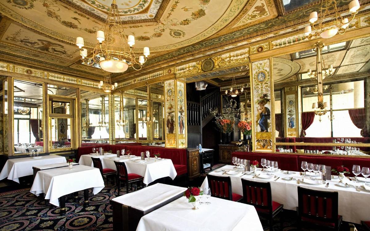 Restaurant Le grand Véfour à Paris