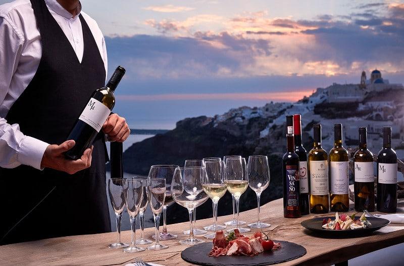 Dégustation de vins grecs