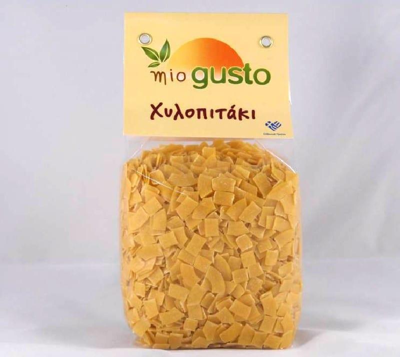 Paquet de pâtes hilopites
