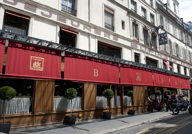 Brasserie Bofinger, rue de la Bastille à Paris