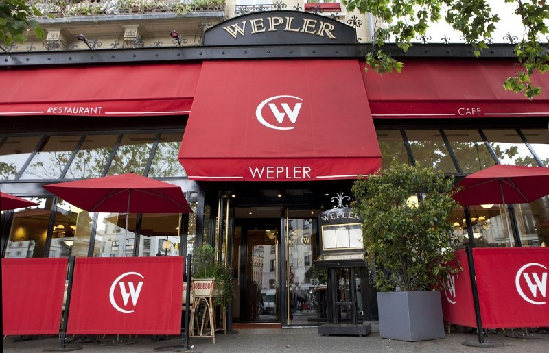 Brasserie Wepler place Clichy à Paris