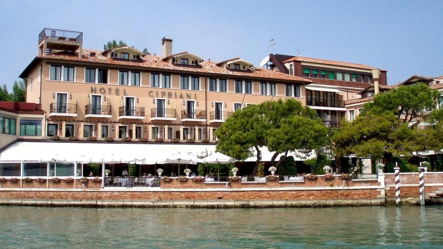L'hôtel Cipriani sur la Guidecca Venise