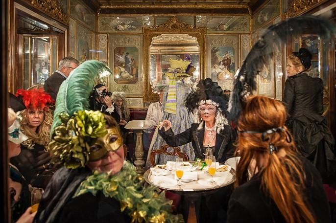 Le Carnaval de Venise au café Florian