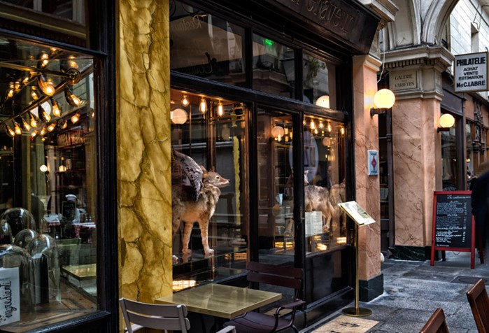 Le caffè Stern au 47 passage des Panoramas à Paris