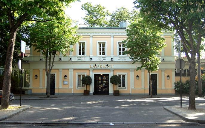 Restaurant Laurent, avenue Gabriel à Paris