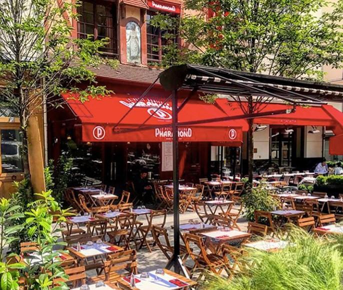 Le restaurant Pharamond rue de la Grande Truanderie à Paris 1er arrondissement