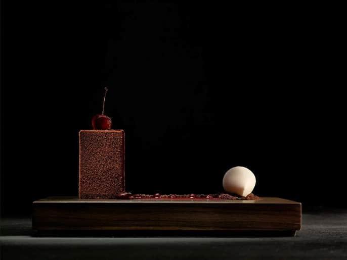 Gâteau forêt noire par Heston Blumenthal