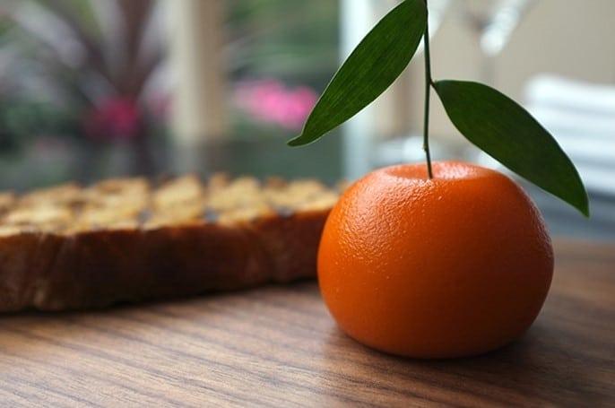 Meat fruit de mandarine par Heston Blumenthal