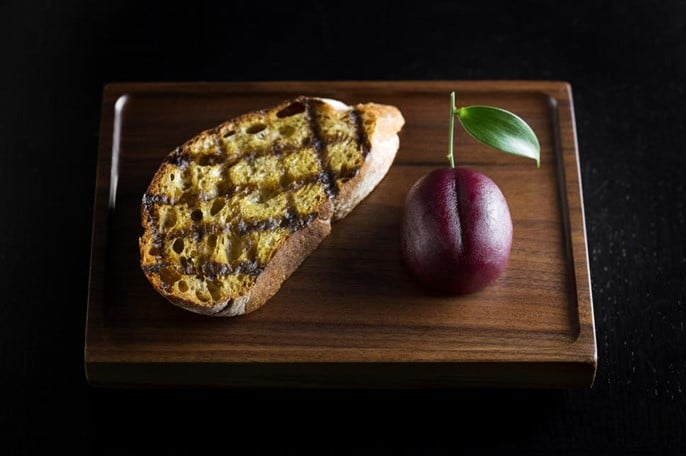 Meat fruit de prune en viande par Heston Blumenthal
