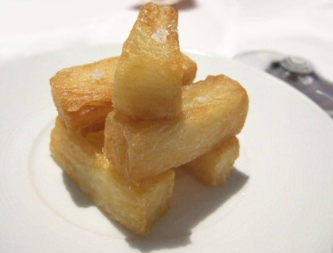 Pommes frites cuites trois fois par Heston Blumenthal