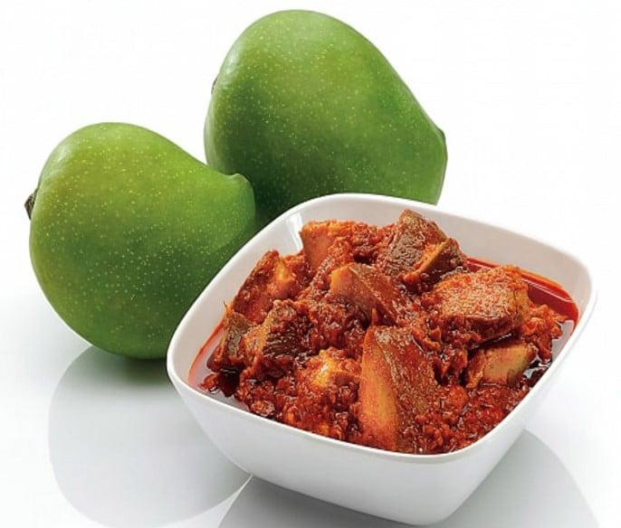 Pickle de mangue