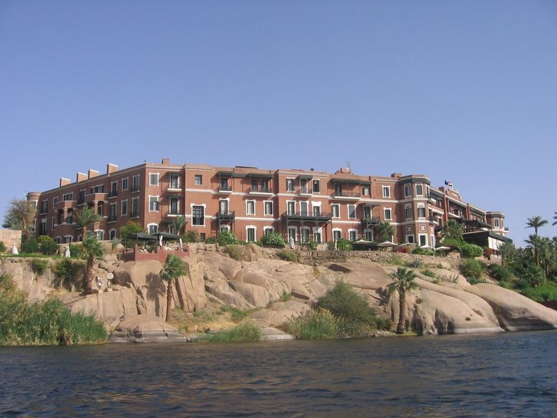 L'hôtel Old Cataract vu du Nil