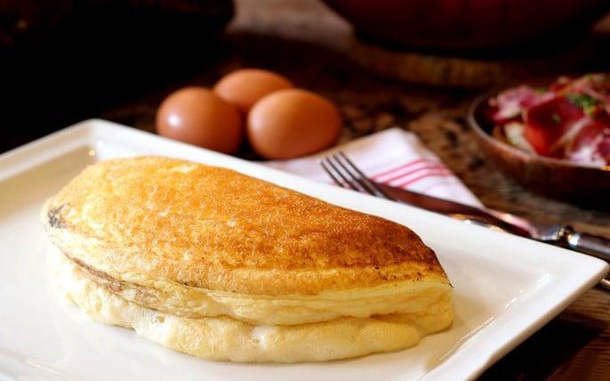 Omelette de la Mère Poulard du Mont Saint-Michel